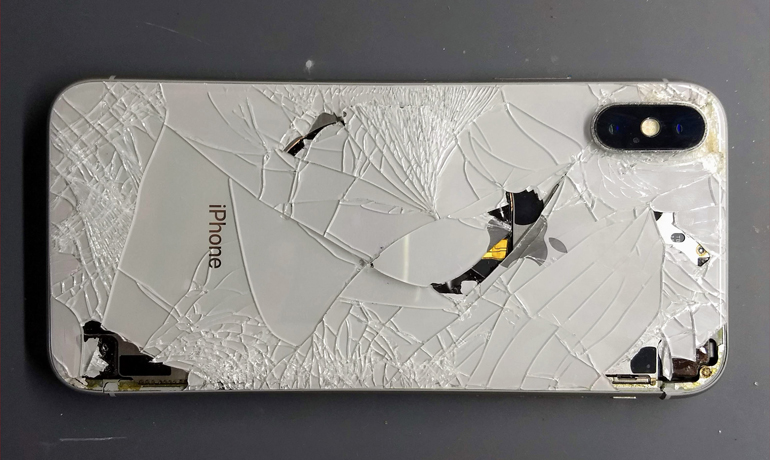 iphone x back glass repair